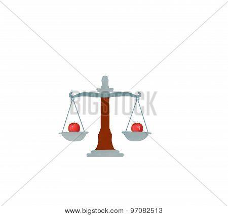 money balance scales