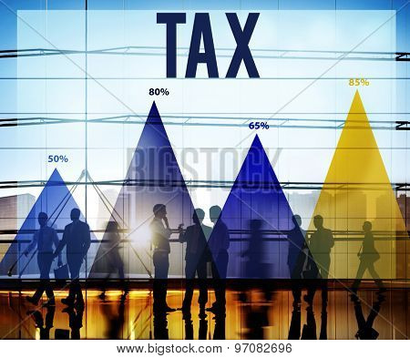 Tax Taxation Economy Accounting Finance Legal Concept