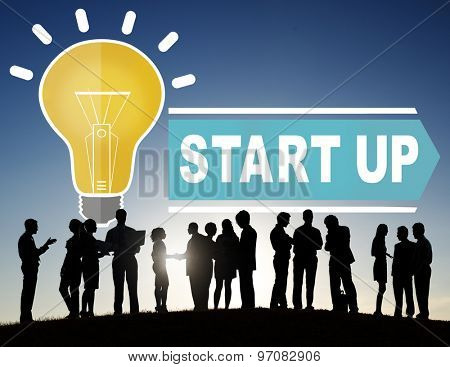 Start Up Innovation Business Ideas Concept