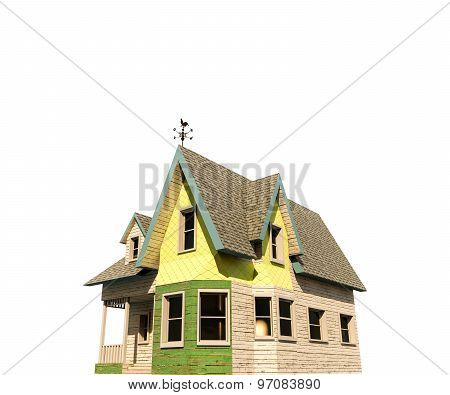 Wooden Victorian House Style