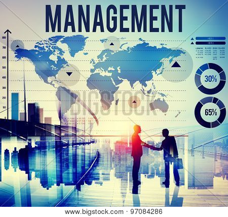 Management Manage Leadership Training Concept