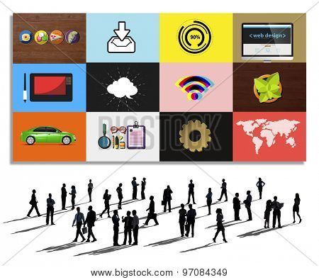 Technology Social Media Networking Online Digital Concept