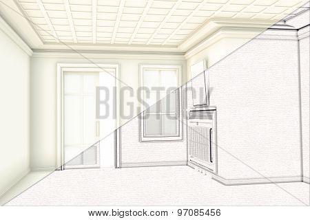 Classical Interior Draw