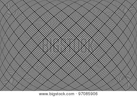 Checked pattern. Abstract textured geometric background. Vector art.