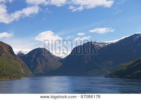 The Sogneford and Mountains, Norway