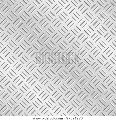 Diamond Plate Metal Background