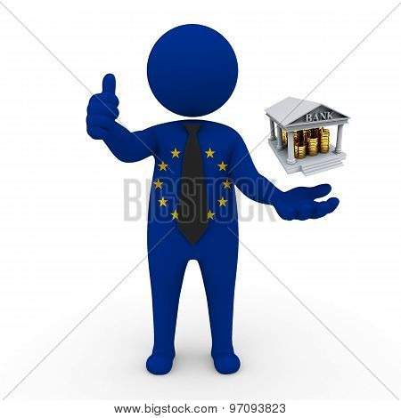 3d businessman people EC - Banking and Finance