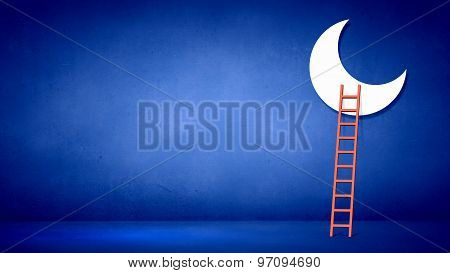Ladder to moon
