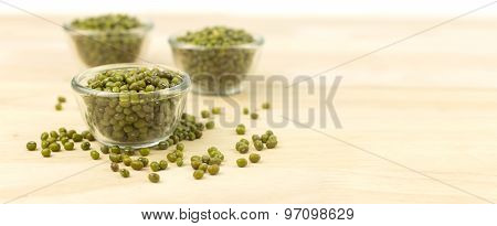 Cup Of Raw Mung Beans