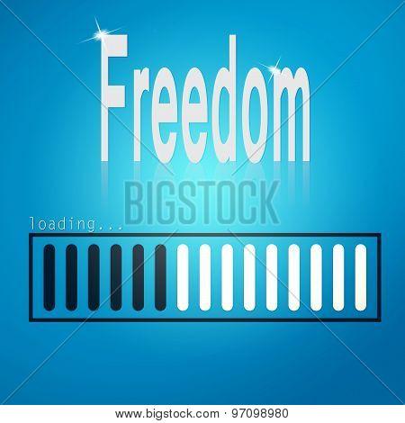 Freedom Blue Loading Bar