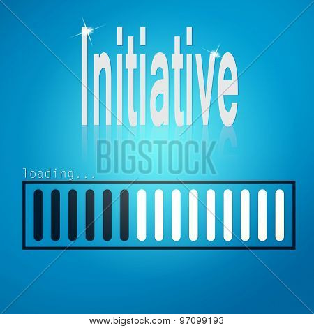Initiative Blue Loading Bar