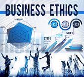 picture of moral  - Business Ethics Integrity Moral Responsibility Honest Concept - JPG