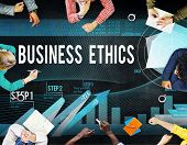 image of moral  - Business Ethics Integrity Moral Responsibility Honest Concept - JPG