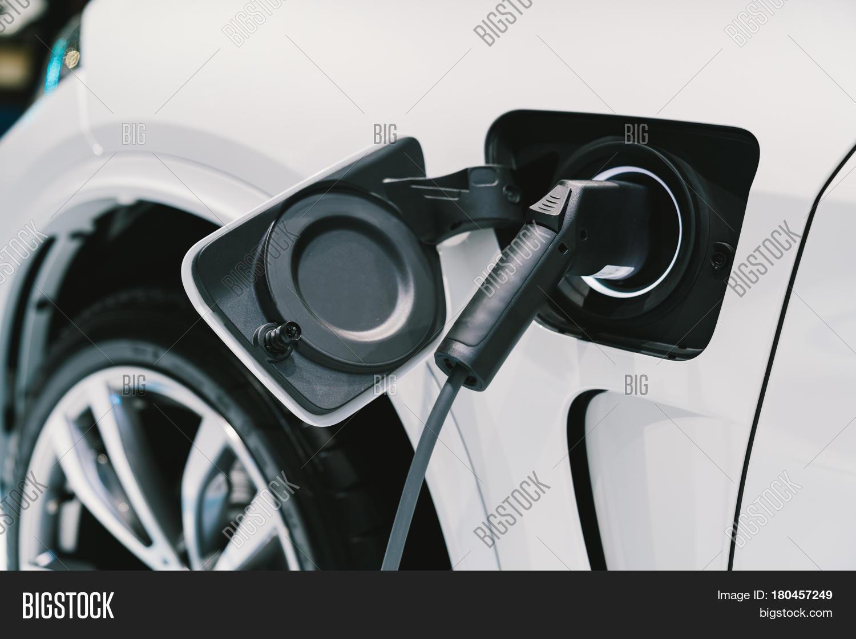 Electric Vehicle Charging System. Image & Photo | Bigstock