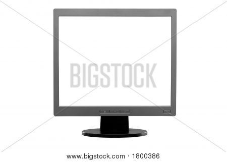 Isolated Lcd Monitor (With Clipping Path)