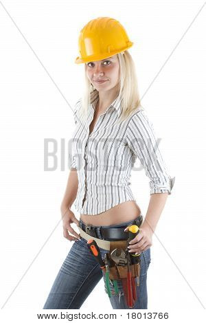 Girl Worker