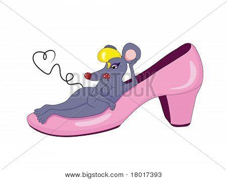 Shoe Mouse