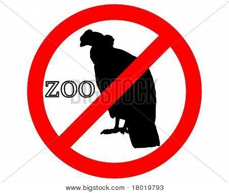 Condor In Zoo Prohibited