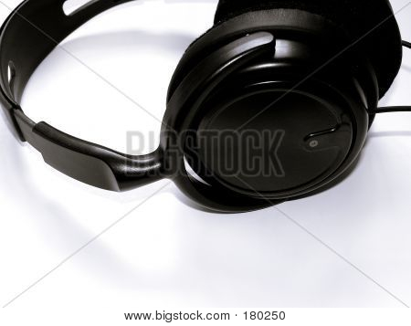 Clouseup Of Headphone