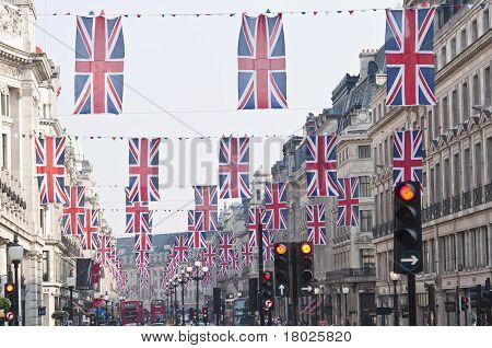 Royal Wedding 2011 Buntings