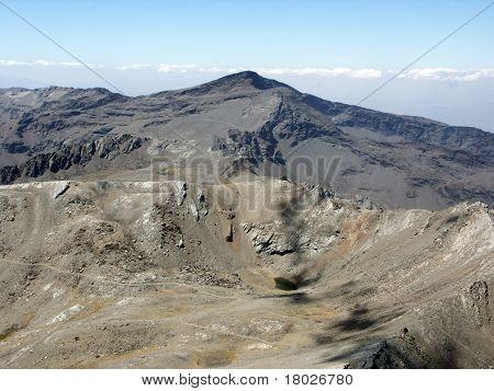 Veleta Peak - View From Mulhacen