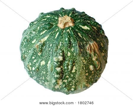 Rough Green Decorative Pumpkin