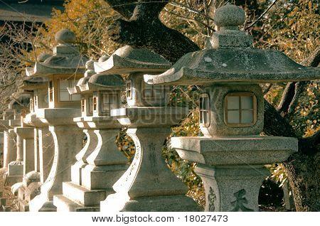 Japanese Concrete Lantern