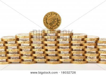 British 1 Pound Coins