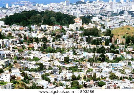 Densely Populated San Francisco