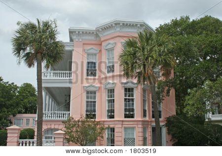 Pink Charleston House