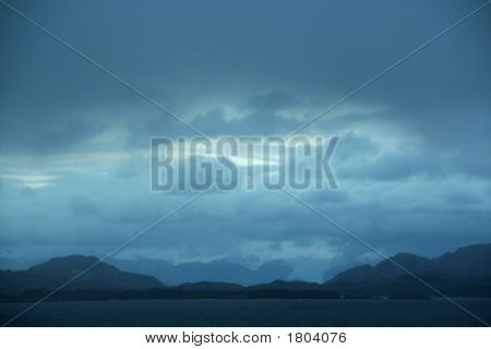 Dark Clouds, Shadowy Blue Ridges