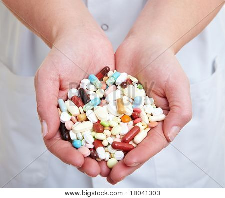 Pills In The Hands