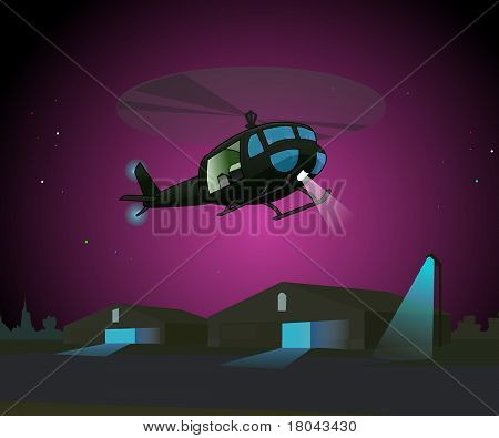 Night Copter