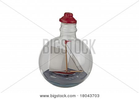 Ship Inside A Bottle.