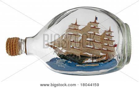 Ship Inside A Bottle.