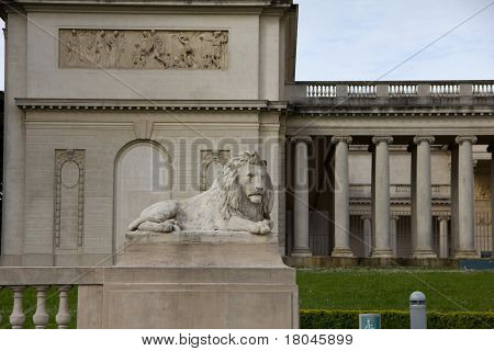 Lion Satue, Legion Of Honor