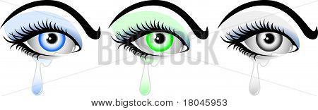Crying  Eye Eye