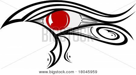 Egyptian Eye Ra