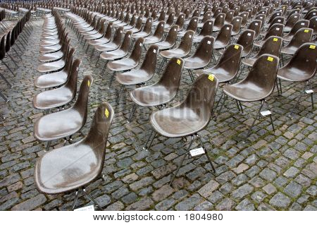 Rows Of Empty Chairs
