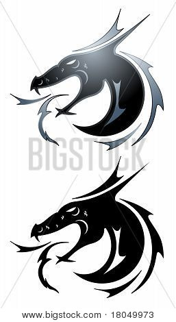 Black Dragon Tatoo