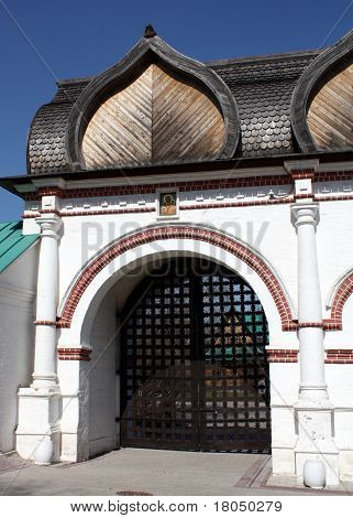 Spassky Gate Of Estate Kolomenskoe