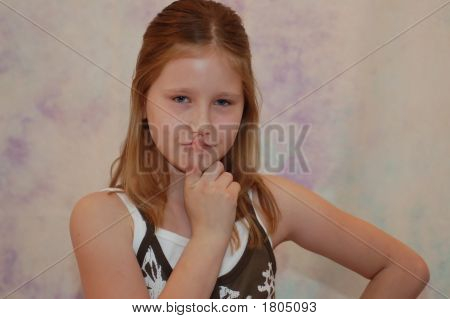 Portrait Of A Young Girl 9