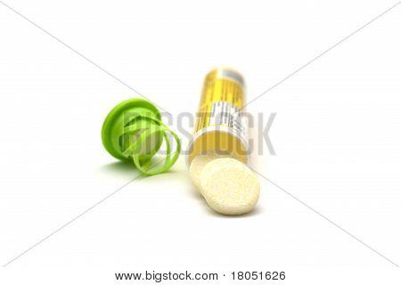 Effervescent pill