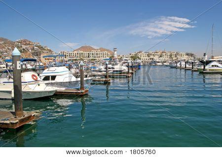 Ships At Marina
