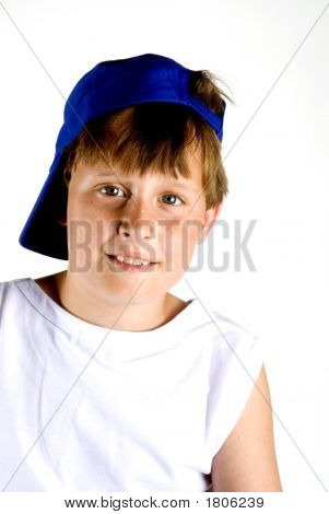 Boy With Cap