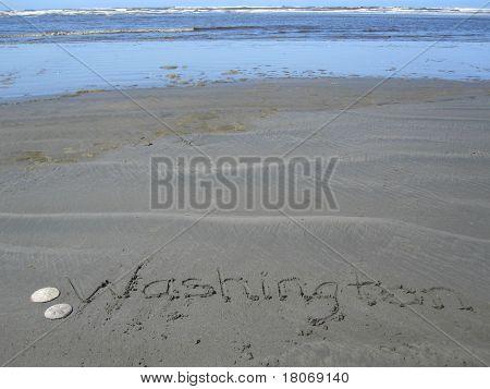 Washington beach - tourism - horizontal