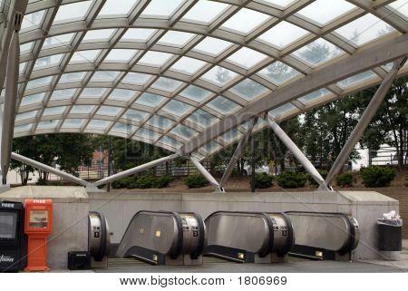 Metro Entrance Dc