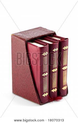 Bücher in einem Fall