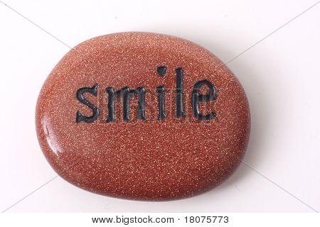 Smile - zen stone