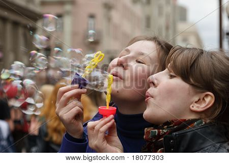 Holiday Of Bubbles And Free Hugs